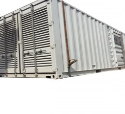CONTAINER CONTAIN THE POWER GENERATOR