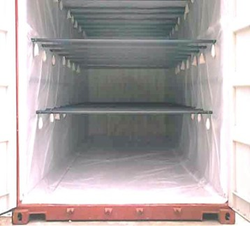 Hanging container installation services